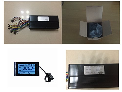 72V 40Amax Brushless DC Motor Controller Ebike Controller +72V SW900 LCD Display One Set,used for E-bike Kit, Electric Bicycle Conversion kit, Electric Bicycle Part & - Kit Speed Control Cruise