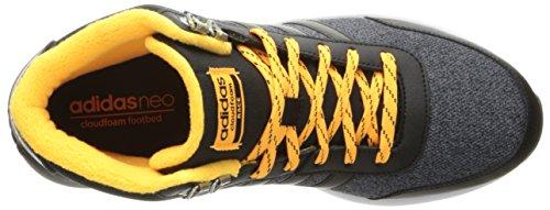 Adidas Neo Mens Cloudfoam Race Wtr Mitten Löparsko Svart / Svart / Sol Guld