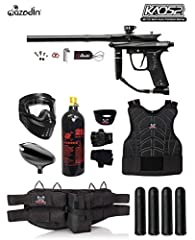 The perfect marker for any entry level paintballer! Easy to use! Easy to maintain! Gets the job done! No fuss operation. Simple, reliable, lightweight, and affordable. The Kaos 2 is a modern rendition of Azodin's signature Kaos Series....