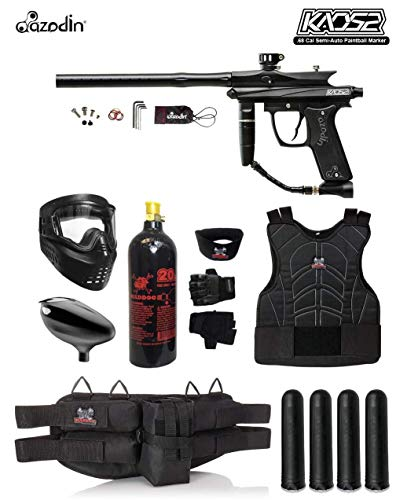 MAddog Azodin KAOS 2 Starter Protective CO2 Paintball Gun Package - - Paintball Azodin