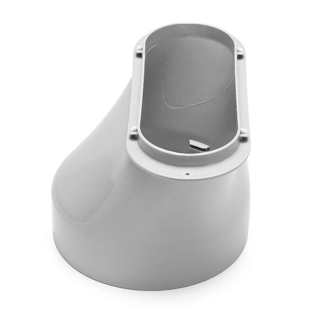ZREAL Conector de Tubo de Manguera de Escape para Aire Acondicionado portátil Adaptador de Ventana para Aire Acondicionado de Shinco