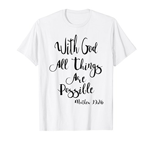 Women's Christian Themed Bible Verse tShirt