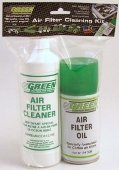 Green Cotton Car, Van & Truck Air Filters Cleaning Service Kit: