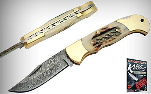 4 Inch Lockback Stainless Steel Knife - Pocket Elite Folding Knife 4