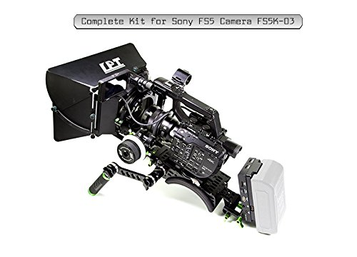 Lanparte FS5K-03 Professional, Versatile Complete Kit for Sony Camera, Black, Green