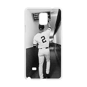 Custom Unique Design Derek Jeter Samsung Galaxy Note 4 Silicone Case