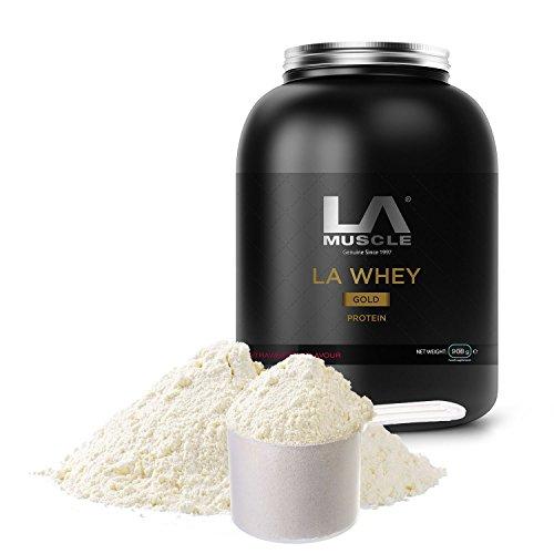- LA Muscle LA Whey Gold Protein (Chocolate (908g))