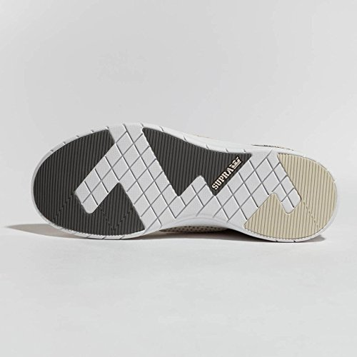 Scarpa Da Pattino Supra Scissor Bone-white