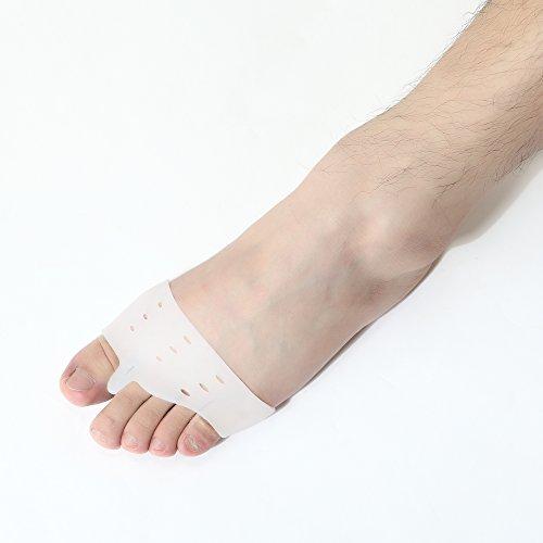 Bunion Gel Zehenabstandshalter eingestellt - KingOfHearts™ Hallux valgus Schutz-Kit beinhaltet 6 verschiedene Arten von Zehen Spacer und Separatoren, medizinischer Qualität Geräte zu Fuß zu schützen, Schmerzlinderung