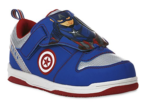 Captain America Shoes (CAPTAIN AMERICA CIVIL WAR MARVEL Sneakers Shoes Toddlers & Boys Sizes (Toddlers 10))