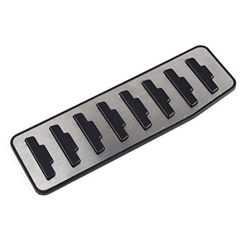 beler Left Hand Drive Footrest Brake Pedal Pad Cover Fit For Land Rover Range Rover Evoque 2012-2019