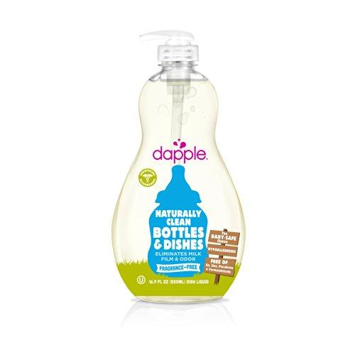 Ejemplares libres de fragancia bebé botella y plato líquido 16.9 oz
