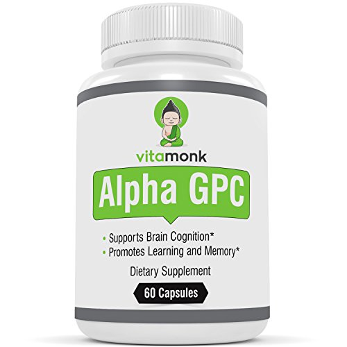VitaMonkTM Alpha GPC Capsules Bioavailable product image