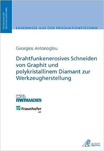 Drahtfunkenerosives Schneiden von Graphit und polykristallinem ...