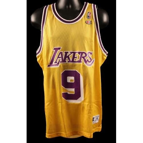 lovely Nick Van Exel Signed Los Angeles Lakers Jersey - COA - JSA Certified  - Autographed 484dc0285
