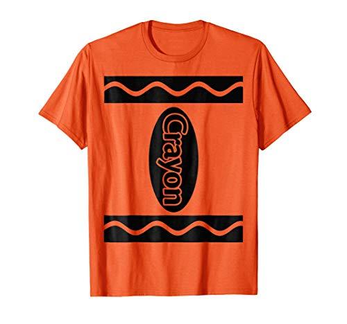 Orange Crayon Box Halloween Costume Couple Group