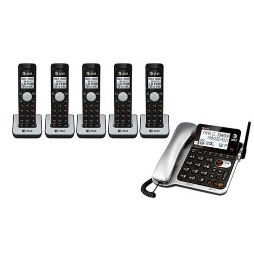 AT&T CL84502 5-handset corded cordless combo Telephone