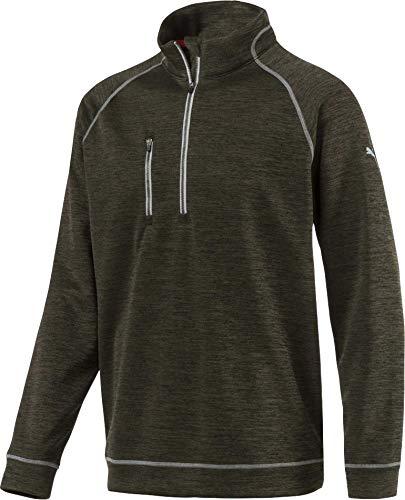 [プーマ] メンズ シャツ PUMA Men's PWRWARM Heather Golf Zip [並行輸入品] S  B07P24Z4F2