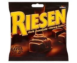 Riesen Dark Chocolate - Chewy Toffee (135g x 10)
