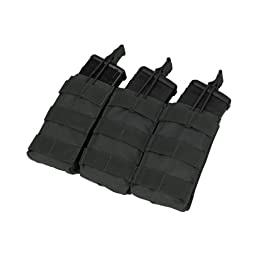 Condor MA27 Triple Open Top Mag Pouch - Black