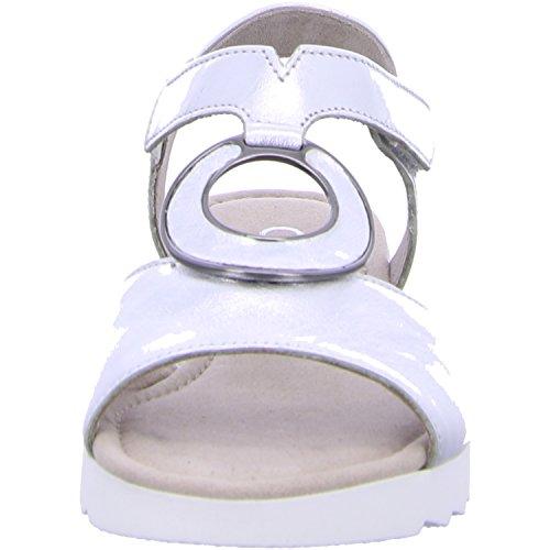 Gabor 62.745.11 - Sandalias de vestir para mujer silber (Kork)