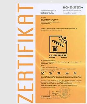 Sonnensegel Kinderwagen hellblau zertifizierter Schutz! UPF 80+