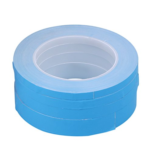 huanban072 Double Side Adhesive Tape Transfer Heat Thermal Conduct for LED PCB Heatsink CPU (20mm)