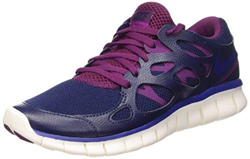 Ryl Nike Run Free Mujer Nvy Wmns Bl para prpl Ext Deportivo 2 Mid Calzado Dp mlbrry qErEw7