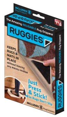 Allstar Marketing Group RU011132 Ruggies Rug Grippers, 8-Pk.