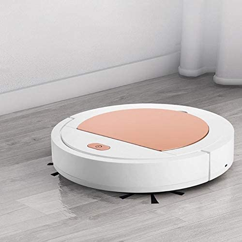 Llsdls Mini aspirateur intelligent Sweeper USB Nettoyage rechargeable Balayer Robot de ménage sans fil Vacum Aspirateur (Color : White) White