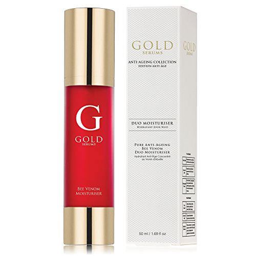 Gold Serums Pure Anti-Aging Bee Venom Duo Moisturizer