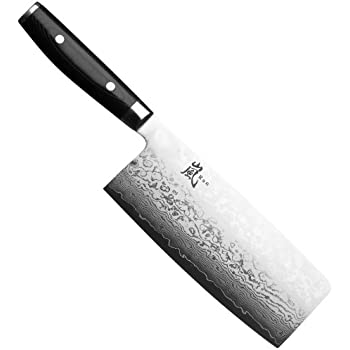 Yaxell Ran 7-inch Cleaver, 1-Count