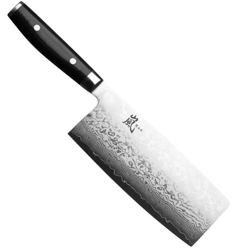 Yaxell Ran 7-inch Cleaver, (1 Cleaver)