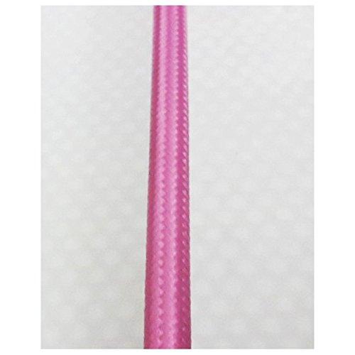 Fil /électrique tiss/é de couleur Rose vintage look retro en tissu