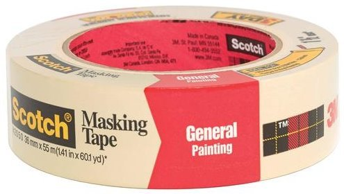 3M 2050-36A 1.41'' Scotch Painters' Masking Tape for Trim Work by 3M