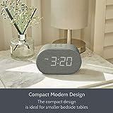 Alarm Clock Bedside Non Ticking LED Backlit Alarm
