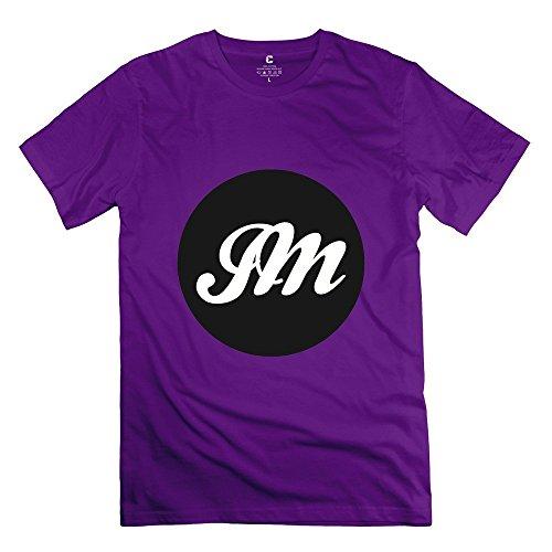 mingrui-mens-john-mayer-logo-t-shirt-m-purple