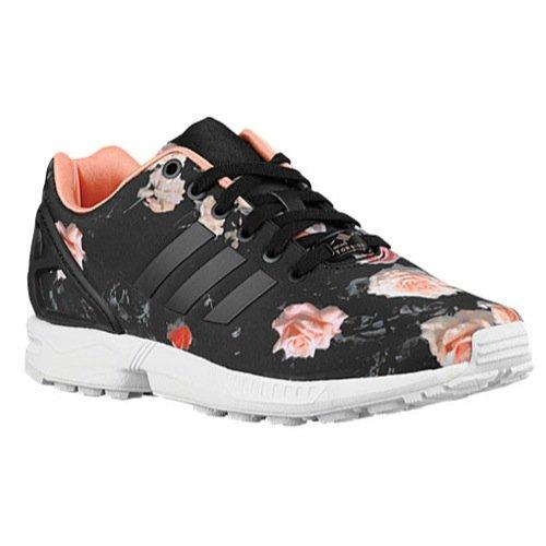 Galleon Adidas ZX Flux Negro/Semi Mujer Zapatos Carbon Negro/Semi Flux Flash 368f74