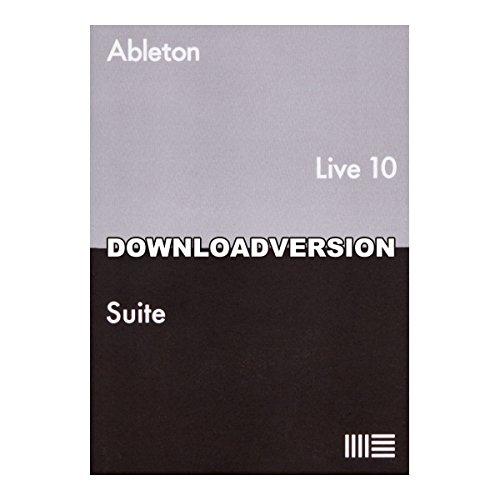 Ableton Live10 Suite アップグレード版 from [Intro] 楽曲制作ソフト【ダウンロード版】 エイブルトン   B07B29VZ4J