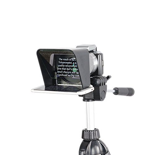 Parrot Teleprompter, The Worlds Most Portable and Affordable Teleprompter (Beam Video Mini Canon)