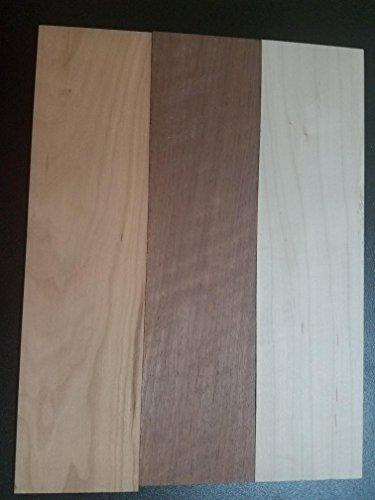 3 Thin Sanded Kiln Dried Walnut Cherry Maple 12
