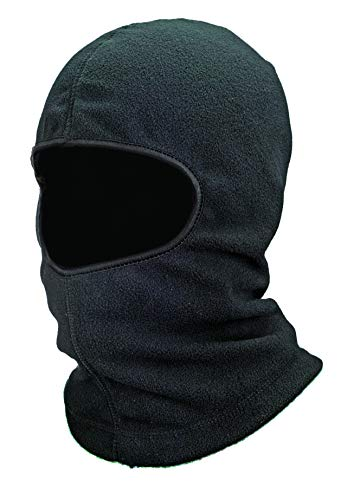 - Ergodyne N-Ferno 6821 Winter Ski Mask Balaclava, Thermal Fleece, Black