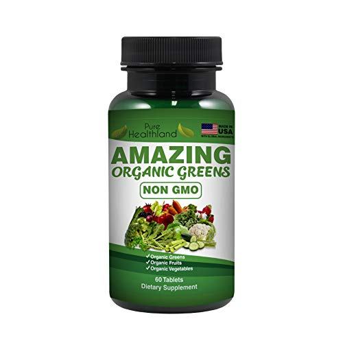 Non GMO Amazing Organic Superfood Supplement