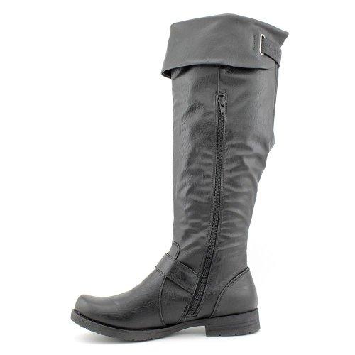 ... Baretraps Jocey Knehøye Boots - Svart Svart ...