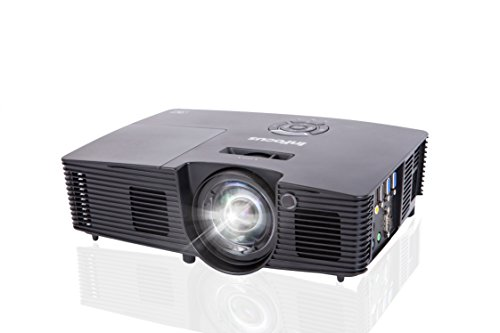 InFocus Corporation IN114v XGA Projector, HDMI, 3500 Lumens, 17000:1 Contrast Ratio, 3D Feature