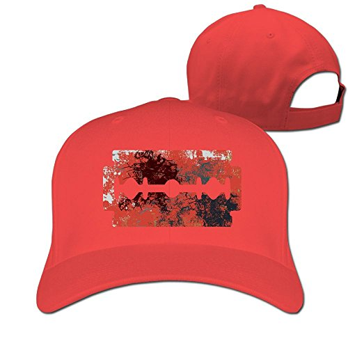 Moustache Shaggy Pirate Cotton Classic Plain Baseball Cap,Unisex Cotton Hat For Men & Women,Adjustable & Unstructured For Max Comfort,Low Profile Polo (Red Pirate Beard And Moustache)