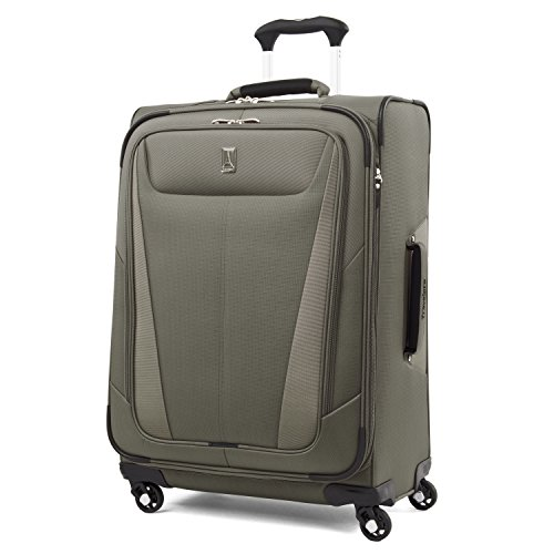 (Travelpro Luggage Maxlite 5 Lightweight Expandable Suitcase , Slate Green)