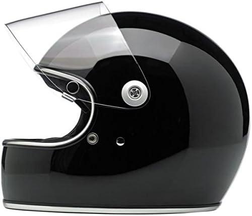 Biltwell Gringo S Helm schwarz gl/änzend Gloss Black 2XL schwarz