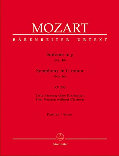 Symphony no. 40 in G minor K. 550 (Symphony 40 In G Minor Sheet Music)