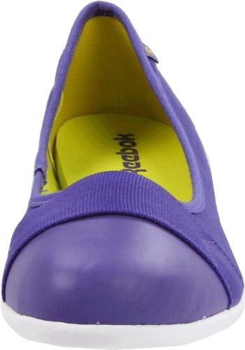 Reebok Dames Betwixt Ballerina Fashion Sneaker Verslaan / Opdringerig Paars / Zon Rock / Wit